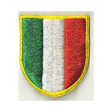 [Patch] SCUDETTO ITALIA cm 4,5 x 5 toppa ricamata ricamo termoadesiva -130