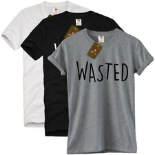 WASTED T SHIRT unisex tee dope coke indie rum party swag blogger tumblr hype