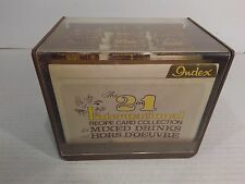 """2 in 1 International Recipe Card Collection"" 1977 Mixed Drinks & Hors D'Oeuvers"