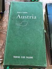 GUIDA D'EUROPA, AUSTRIA - TOURING CLUB ITALIANO - 1964