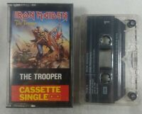"1983 Iron Maiden ""The Trooper"" Audio  Cassette Single UK Import See Pics Rare"