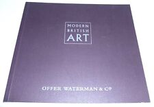 Modern British Art 1998 GROUP ART EXHIBITION CATALOGUE Mary Potter, B Hepworth