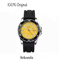 Sekonda Men's Original Quartz Analogue Date Silicon Strap Sports Watch 1499 New