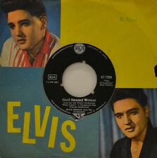 "ELVIS PRESLEY - HARD HEADED WOMAN -DON`T ASK ME WHY RCA 47-7280 Single 7"" (I982)"
