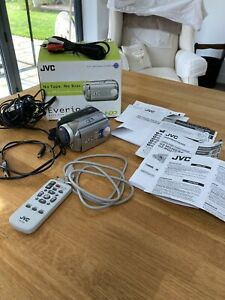 JVC MG21 20 GB Camcorder - Silver Boxed In Great Condition