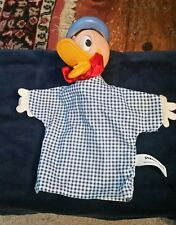 1950s Donald Duck Gund Hand Puppet - Disneyana