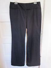 Express Editor dress pants Women's Size 10 Black Striped formal Design Studio