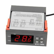 Digital Stc-1000 All-purpose Temperature Controller Thermostat With Sensor T3w8