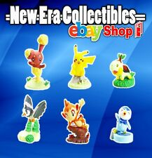 Pokemon - Buidable Figure Collection - Series 3 - 6 Figurine Set - Tomy Yujin