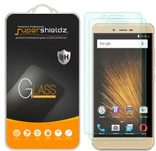 2X Supershieldz BLU VIVO XL2 / XL 2 Tempered Glass Screen Protector Saver