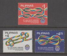 Philippine Stamps 1991 12th Asia-Pacific Boys Scouts Jamboree set MNH