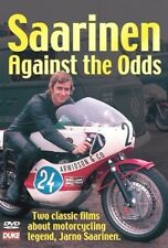 SAARINEN AGAINST THE ODDS DVD. 2 FILMS. YAMAHA, IMOLA 200. 70 Mins. DUKE 1009NV
