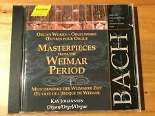 Bach: Orgelwerke aus der Weimarer Periode. Johannsen (O). 1 CD, hänssler