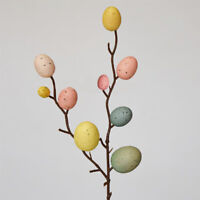 Easter Egg Tree Branch Painting Eggs Spring Party DIY Decor Home Decoration aa