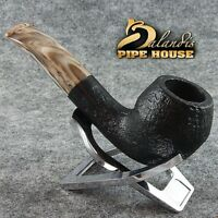 BALANDIS original Handmade tobacco smoking pipe MARCAN BLACKER Briar wood