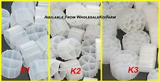 MOVING WAREHOUSE HUGESALE Moving Bed BIO Filter Media 2 Cubic Feet FILTRATION