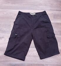 Mens Dickies Lightweight Summer Cargo Shorts Black W34