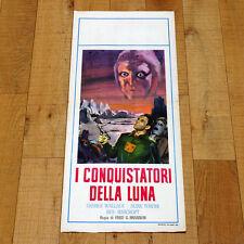I CONQUISTATORI DELLA LUNA locandina poster Radar Men from The Moon Sci Fi Y69