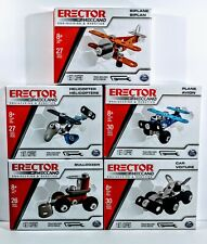 🔥 Erector by Meccano Spin Master Engineering & Robotics Lot of 5 Models NEW