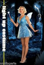 Dreamgirl Lingerie True Blue Fairy Costume Roleplay Set