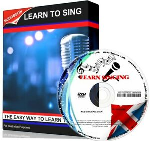 Learn To Sing Like A Professional Artist Singing Lessons For Beginners PCDVD-ROM
