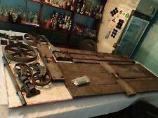 "Disassembled 24"" x 48"" Antique Vintage Railroad Warehouse Factory Cart"