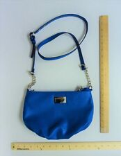Women's JUICY Couture Purse Hand Bag Tote ROYAL BLUE Cross Body Style