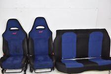 2005 Subaru WRX STI Seat Set Seats Front Rear Blue Interior 05