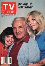 1981 TV Guide -Ted Knight - Too Close for Comfort -Phil Donahue - Instant Replay