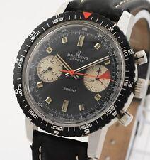 Breitling sprint 2010 acero vintage Valjoux 7733 con box y guía