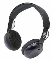 Skullcandy Grind Headphones Black with Tap Tech (S5GRHT-448) Mic, Black