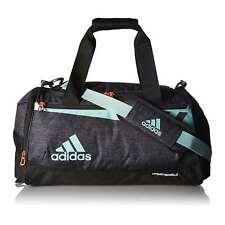 744169c948 adidas Team Issue Small Duffel Gym Bag Workout Black Jersey energy Aqua