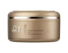 Wella LuxeOil Keratin Restore Mask 5.07 oz / 150 ml reconstructs the hair fiber