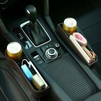 Universal Cup Holder Seat Drink Storage Rack Car Seat  Organizer Bag Slot Box