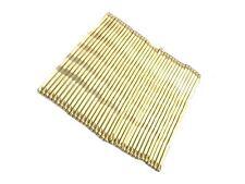 1 Paquete de 36 diapositivas de Oro Rubio Cabello Kirby Grips 4.5 cm Cabello Accesorios del Reino Unido