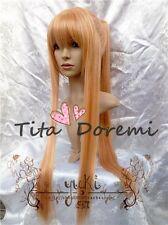 Halloween Wig Hair Cosplay Pandora Hearts Shaul orange long fashion party Wigs