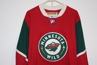 9cea545ea Koho Minnesota Wild Sewn Home Hockey Jersey Men Medium Multi Red Green NHL  Xcel