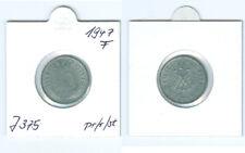 Alliierte Besatzung  10 Reichspfennig 1947 F  prägefrisch bis stempelglanz