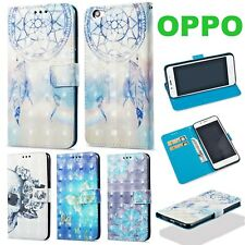 OPPO R9S R11 A59 F1S A57 Glossy Shine Pattern Wallet Flip Leather Case Cover