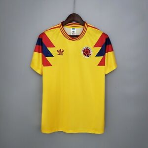 Colombia retro shirt 1990 home jersey S-2XL
