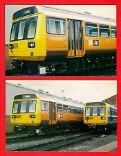 Postcards ~ BREL Leyland Class 142 Pacers - 001 GMPTE: 028 BR Provincial - 1985