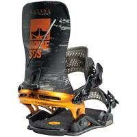 Rome Katana 2021 Snowboard Bindings Men's Black/Orange L/XL