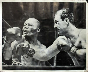 Rocky Marciano To John Hi Authentic Signed 17x19 Black & White Photo BAS #A10916
