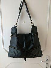 Jas M.B London By IBW LTD XLarge Unisex Black Genuine Leather Shoulder Handbag
