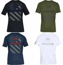 Under Armour 1333366 Men's Athletic UA Freedom Express T-Shirt Short Sleeve Tee