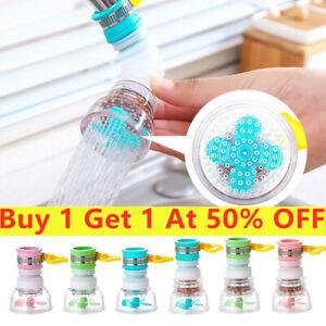 New Kitchen Tap Head Water Saving Faucet Extender Sprayer Sink Spray Sprinklers