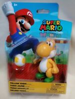 SUPER MARIO BROS - *New & Unopened* Yellow Yoshi Figure Jakks 2020 Nintendo