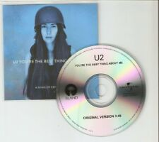 "U2 'YOURE THE BEST THING ABOUT ME"" ORG MIX - BRAZILIAN CD PROMO"