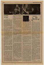 Incredible String Band Interview/article 1969 RS-RTYU