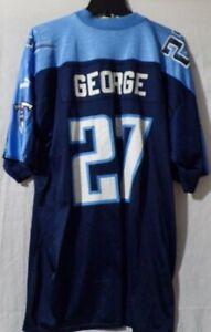 Vintage Puma Jersey Eddie George Tenessee Titans Size XL Authentic Mens #27 Vtg